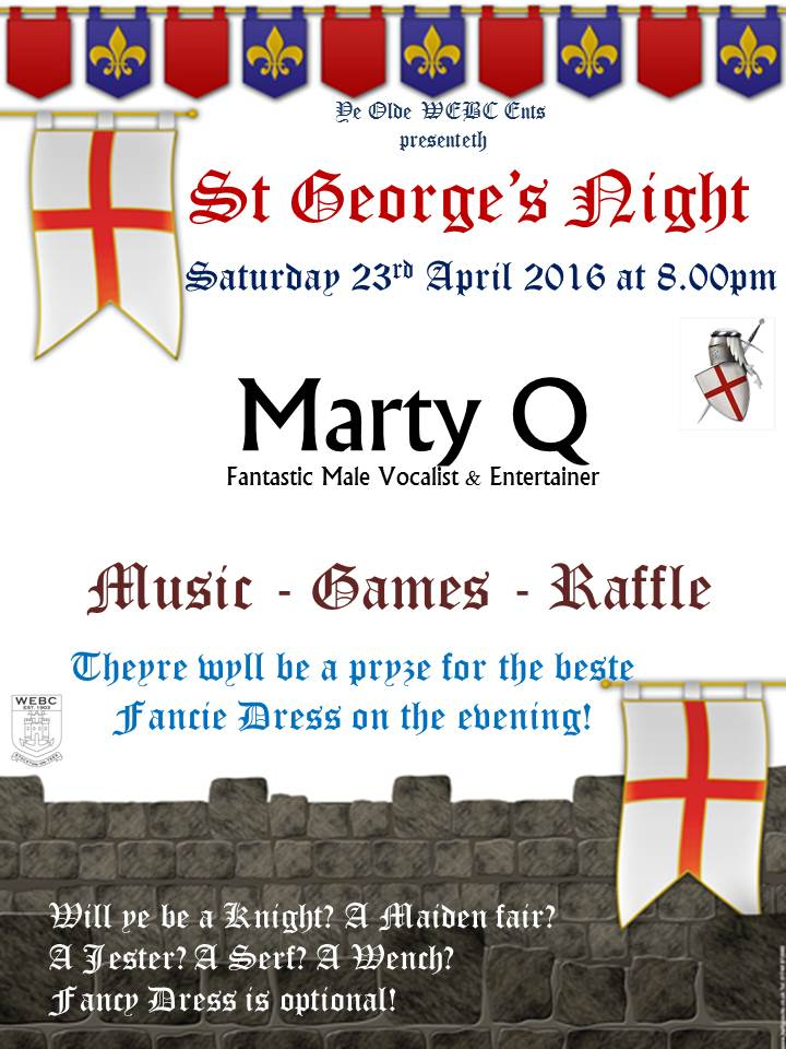 st georges night april 2016
